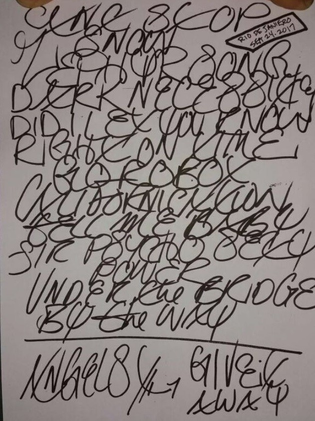 Confira o setlist do Red Hot Chili Peppers para o show do Palco Mundo do Rock in Rio (Foto: Multishow)