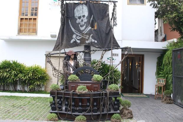 Aniversário de Pietro, filho de Otávio Mesquita (Foto: Thiago Duran/AgNews)