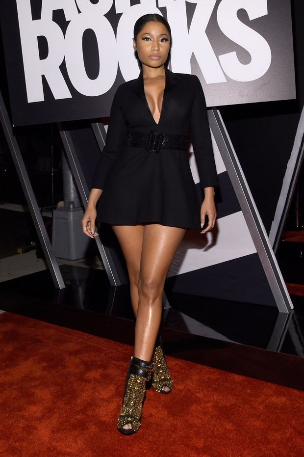 Nicki Minaj no Fashion Rocks 2014 (Foto: Getty Images)