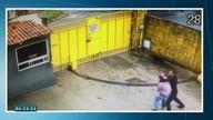 Vídeo mostra troca de tiros entre bandido e policial em Fortaleza