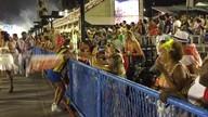 Corredor Vanderlei Cordeiro pulou, dançou e foi pra torcida na Sapucaí