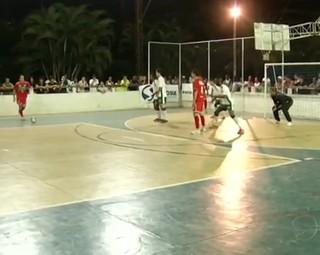 Paraíba do Sul enfrentou Três Rios pela segunda rodada do campeonato (Foto: Reprodução Bom Dia Rio)