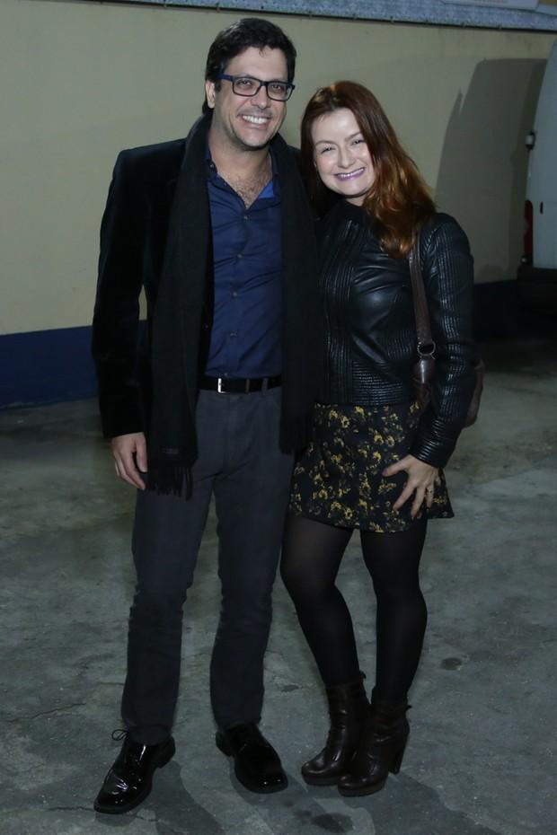 Lucio Mauro Filho e Cintia Oliveira (Foto: Roberto Filho / Brazil News)