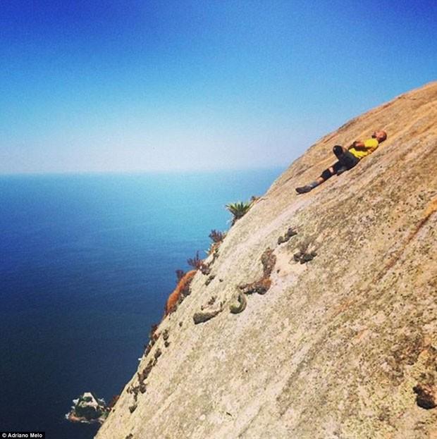 Selfie Pedra da Gávea (Foto: Instagram/ Reprodução)
