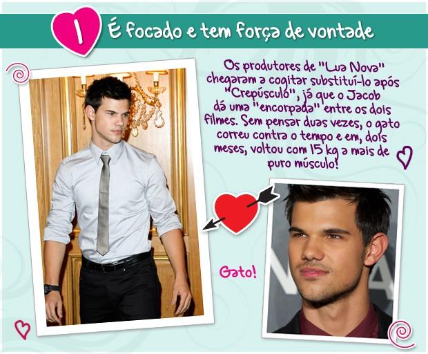 Taylor Lautner (Foto: Revista QUEM)