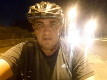 Funcionário público Jessé Mamede Untar já viajou à Bolívia de bicicleta (Foto: Arquivo pessoal/ Sérgio Urel)
