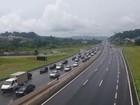 Estradas do Vale e região bragantina registram lentidão na volta do feriado
