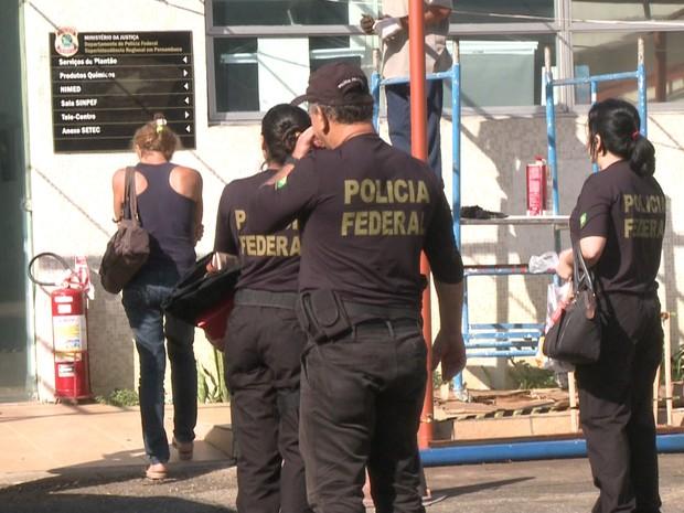 Polícia Federal; fraudes INSS; Agreste; operação (Foto: Reprodução/TV Globo)