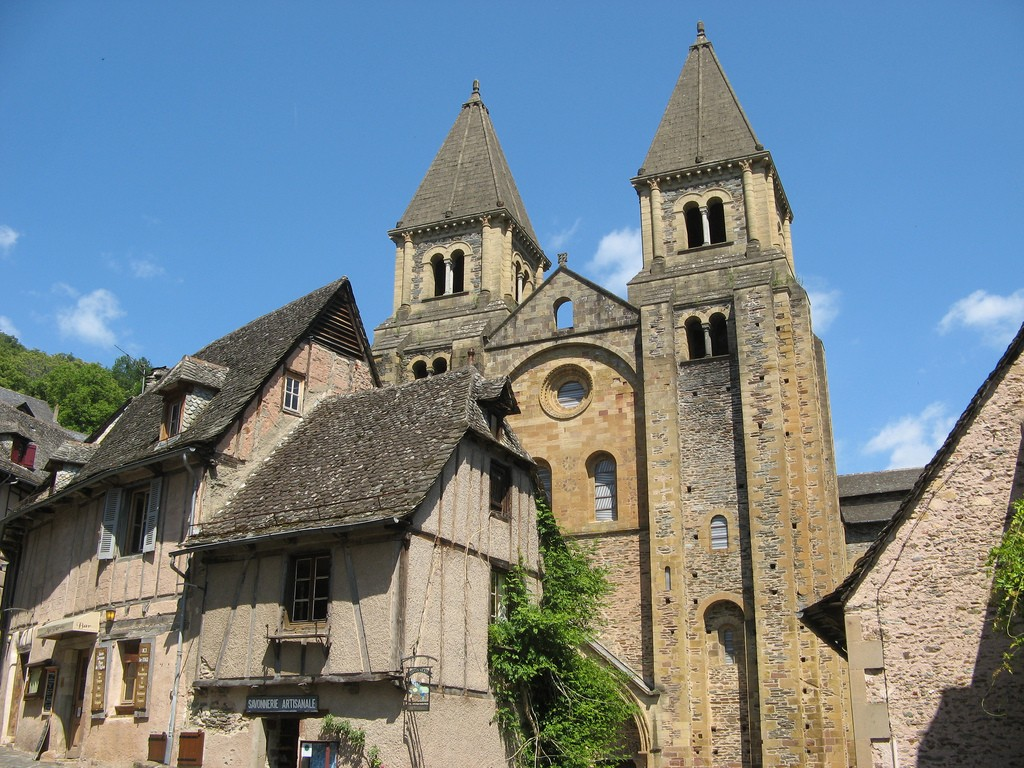 Conques, França (Foto: Flickr/jameswberk)