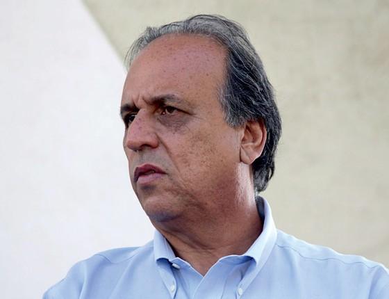 RECURSO Luiz Fernando de Souza, o Pezão. Ele acredita que a sentença da Justiça Federal será derrubada (Foto: Ale Silva/Futura Press)