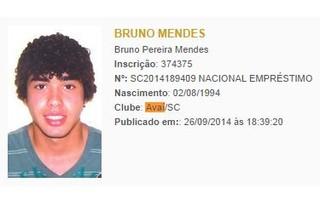 Bruno Mendes BID (Foto: Reprodução/Site da CBF)