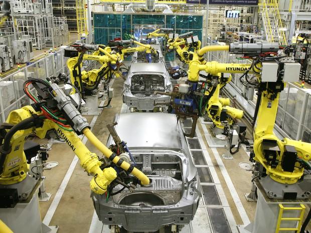 Fábrica de Piracicaba foi avaliada como a melhor do mundo desde que se instalou na cidade  (Foto: Divulgação/Hyundai)