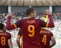 Roma vence o Udinese e segue na cola do Napoli no Campeonato Italiano