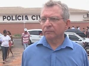 Delegado Tadeu Aparecido Carvalho Coelho (Foto: Reprodução/TV TEM)