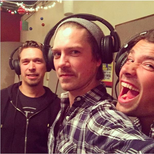 Os três irmãos do grupo Hanson (Foto: Instagram)