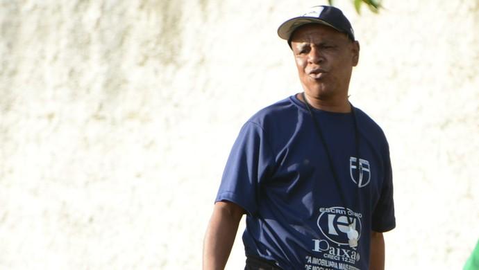 Edinho Poá técnico Atlético Mogi (Foto: Cairo Oliveira)