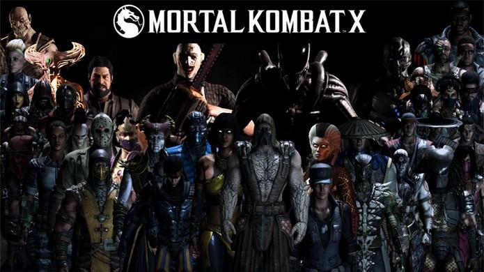 Mortal Kombat XL traz todos os personagens extras lançados através de DLC (Foto: Reprodução/Yoink13)