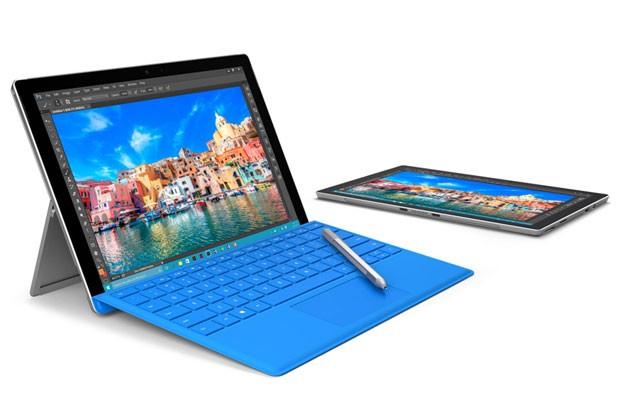 Surface Pro 4, da Microsoft, é um tablet que pode integrado com um teclado removível. (Foto: Divulgação/MIcrosoft)