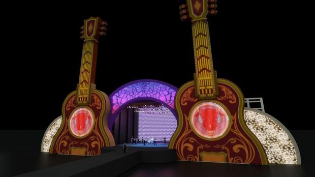 Confira o design dos palcos e atraes do Brahma Valley (Foto: Divulgao)