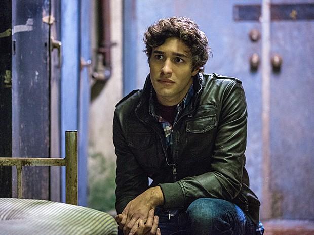 Alex Koch vive o sociopata Junior em 'Under the dome' (Foto: Divulgação)