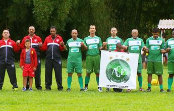 No interior de MG, time amador faz homenagem à xará Chapecoense
