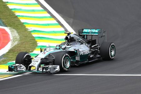 Nico Rosberg, Treino Livre GP do Brasil (Foto: EFE)