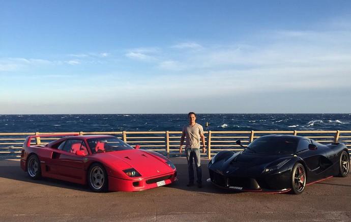 """Felipe Massa """"ostenta"""" duas Ferrari em Mônaco e faz ... Felipe Massa Instagram"""