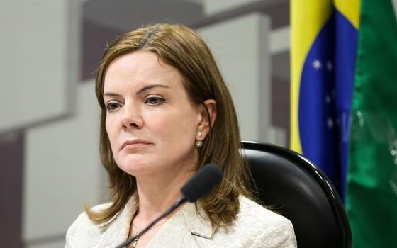 Gleisi Hoffmann (Foto: Marcelo Camargo/Agência Brasil)