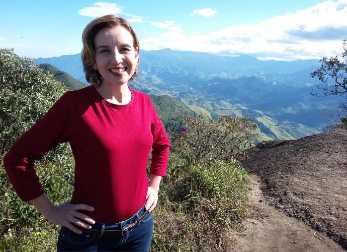Teresa Freitas fez um passeio pela região da Pedra Selada (Foto: Rio Sul Revista)