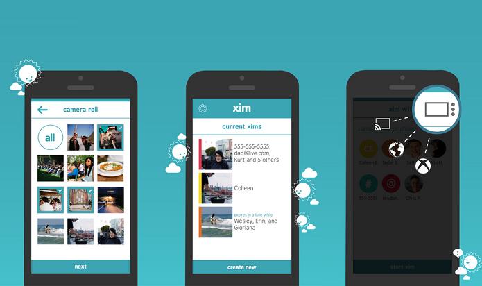 Compartilhe suas fotos de diferentes locais com os amigos usando o Microsoft Xim (Foto: Divulgação/AppleStore)