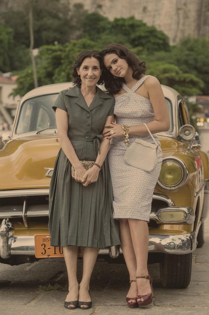 Cassia Kis é mãe de Bruna Marquezine em 'Nada Será Como Antes' (Foto: Globo/Estevam Avellar)