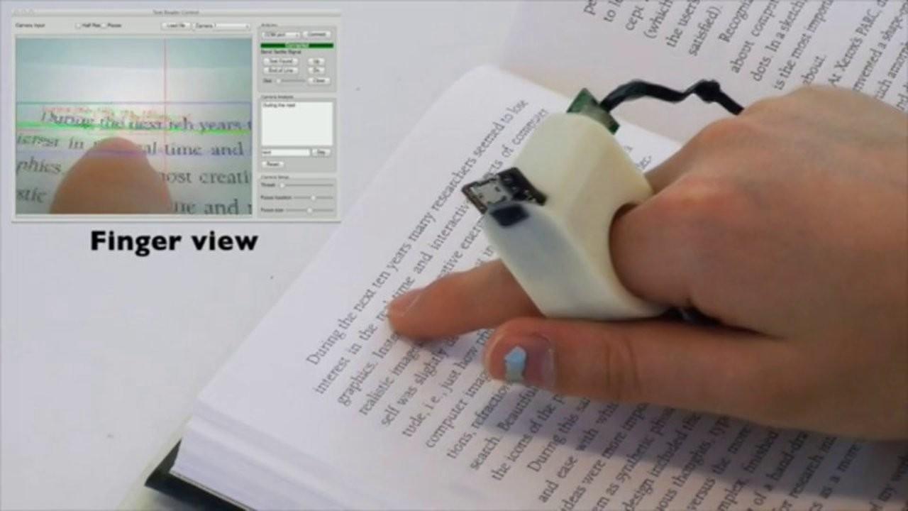 O FingerReader (Foto: Reprodução)