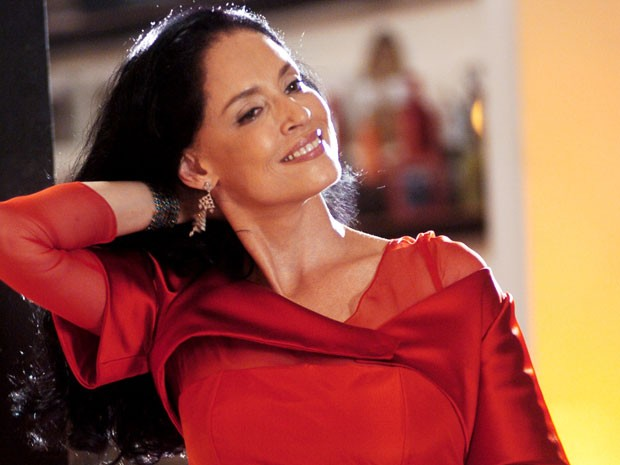 Sônia Braga fará participação especial em Salve Jorge (Foto: TV Globo / Divulgação)