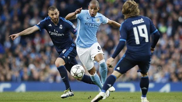 Futebol: Real Madrid x Manchester City nesta quarta (divulgação)