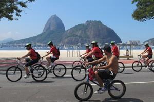 Cerca de seis mil ciclistas participaram do evento (Foto: Alba Valéria Mendonça/ G1)