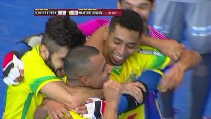 Os gols de Florianópolis 3 x 6 Marechal Rondon pelo Liga Nacional de Futsal