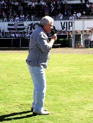 Sérgio Carnielli, presidente afastado da Ponte Preta (Foto: Thiago Toledo/ PontePress)
