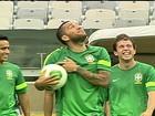 Contra o Uruguai, Felipão vai repetir o time das duas primeiras partidas