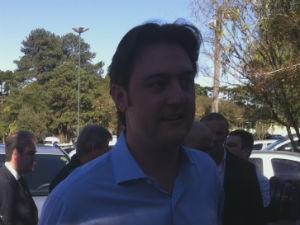 Ratinho Jr (PSC) é deputado federal (Foto: Fernando Castro/ G1 PR)