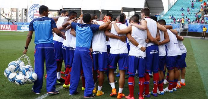 Jogadores do Bahia (Foto: Felipe Oliveira/Divulgação/EC Bahia)