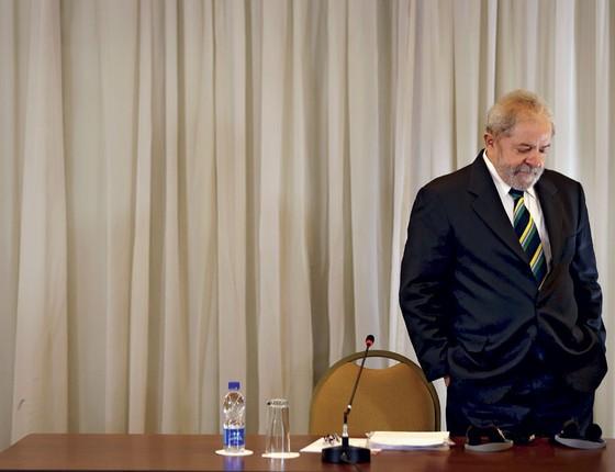O ex presidente Luis Inácio Lula da Silva Lula  (Foto:   Paulo Whitaker / Reuters)