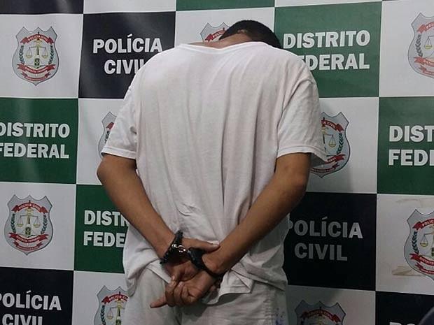 Suspeito de homicídio e de cinco estupros no Distrito Federal (Foto: Isabella Calzolari/G1)