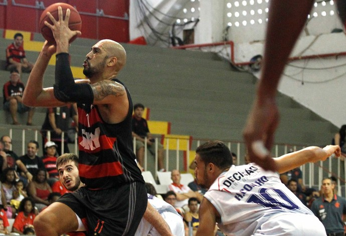 Marquinhos Flamengo x Minas NBB Basquete (Foto: Gilvan de Souza / Flamengo)