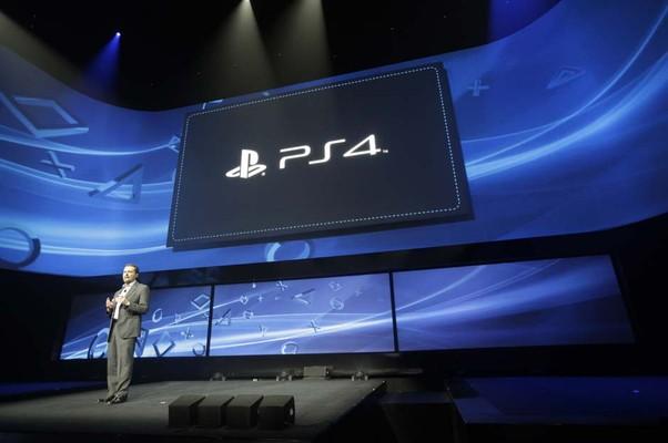 Sony apresenta seu novo console, o Playstation 4 (Foto: Frank Franklin II/AP)