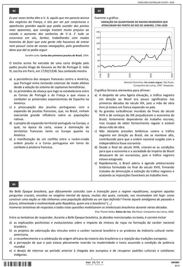 Fuvest - Caderno de Prova - 25 (Foto: Reprodução/Fuvest)