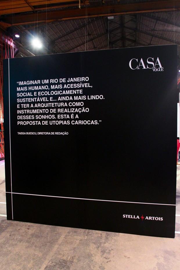 Evento Utopias Cariocas (Foto: Cesar França)