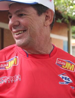 Neto Jordão - técnico do Piauí (Foto: Emanuele Madeira/GloboEsporte.com)