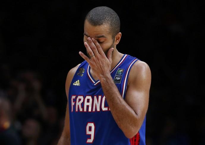 Tony Parker França x Espanha Europeu de basquete (Foto: Reuters)