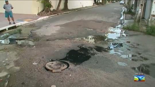 Moradores reclamam de esgoto estourado em bairro em São Luís