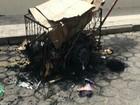 Usuário de drogas ateia fogo em catador de papelão em Linhares